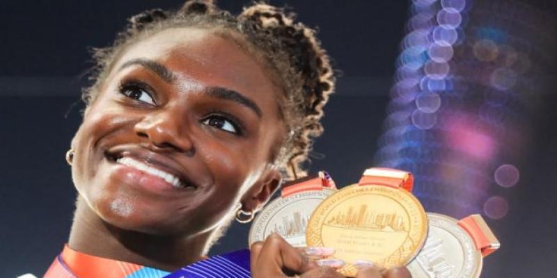 Dina Asher Smith backs new athletes